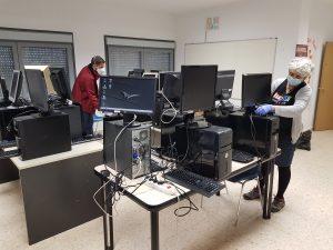 Preparación de equipos informáticos