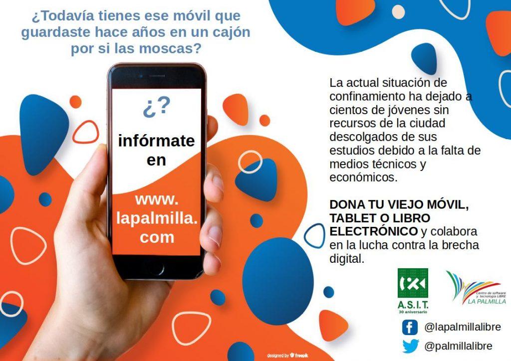 Campaña solidaria de recogida de móviles